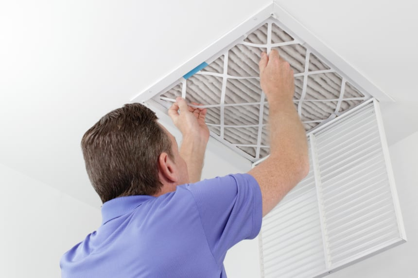 Air filter HVAC maintenance in Carmel